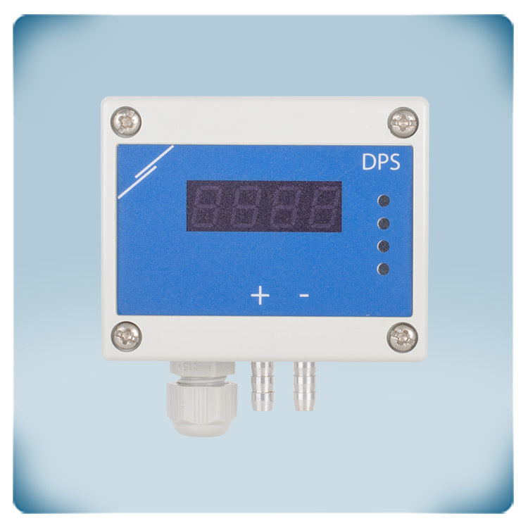 differential pressure controller with display